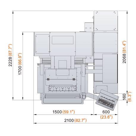 dimension électro érosion 400G